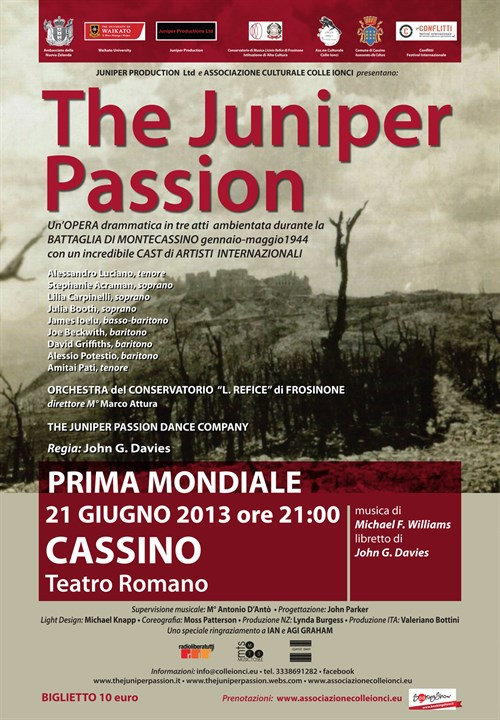 The Juniper Passion