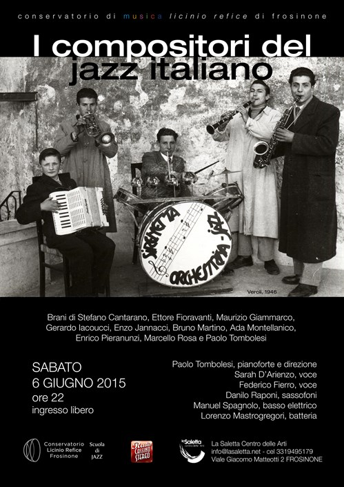 I compositori del jazz italiano