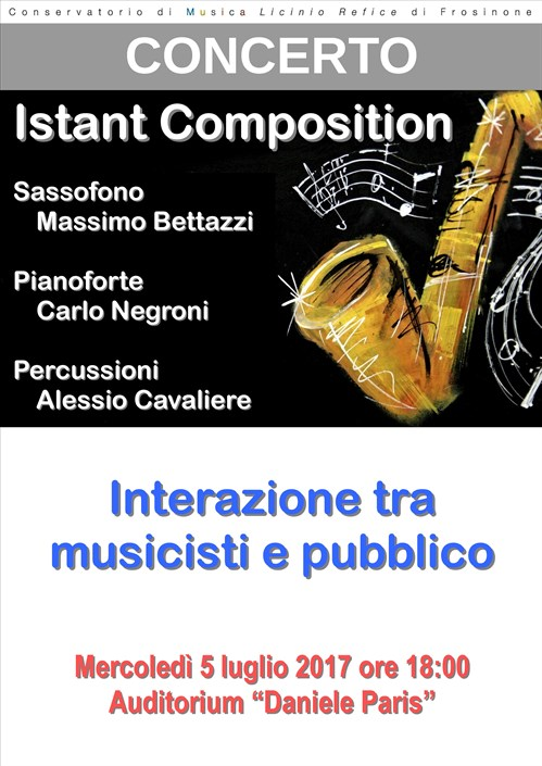 Istant Composition