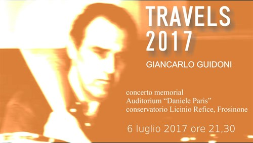 Travels 2017 Giancarlo Guidoni