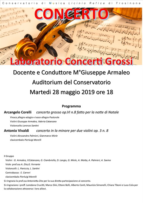 Laboratorio Concerti Grossi